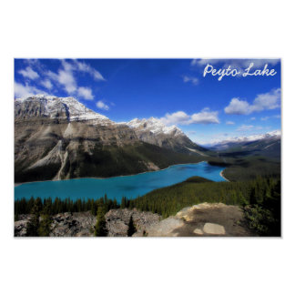 Peyto Lake, Banff National Park, Canadian Rockies Poster
