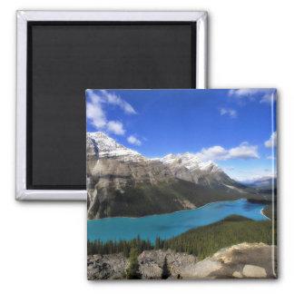 Peyto Lake, Canadian Rockies Square Magnet