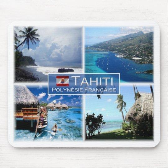 PF French Polynesia - Tahiti - Mouse Pad