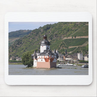 Pfalzgrafstein Castle, Rhine River, Germany 1 Mouse Pads