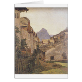 Pfamgasse in St. Wolfgang by Ferdinand Georg Card