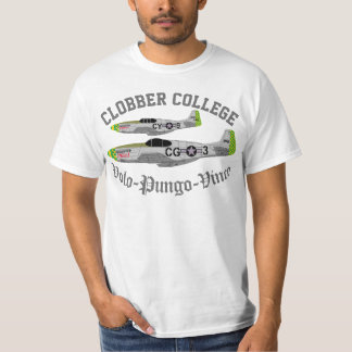 """Pfive1 """"Clobber College"""" T-Shirt"""