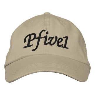 Pfive1 Embroidered Hat
