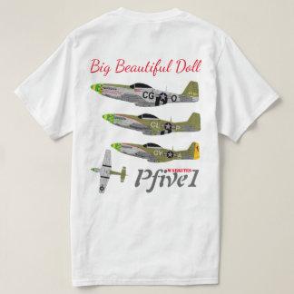 """Pfive1 P-51 """"Big Beautiful Doll 55th"""" T-Shirt"""