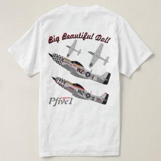"""Pfive1 P-51 """"Big Beautiful Doll 78th"""" 1st T-Shirt"""