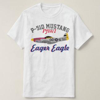 "Pfive1 P-51 ""Eager Eagle"" T-Shirt"