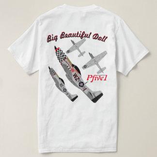"""Pfive1 P-51D """"Big Beautiful Doll"""" T-Shirt"""