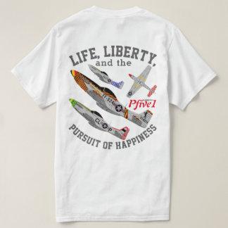 "Pfive1 P-51D ""Pursuit of Happiness"" T-Shirt"