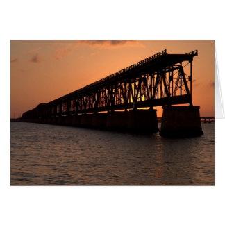 Pflager Bridge Greeting Card