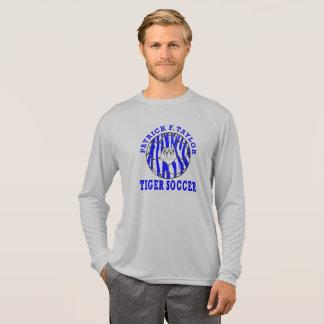 PFT Tiger Face Soccer Ball Long Sleeve T-Shirt