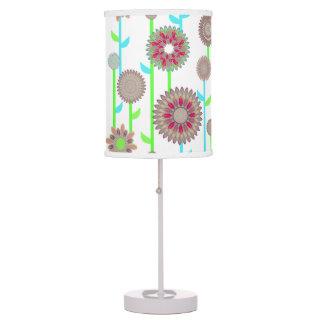 PH&D Flower Power Contemporary Table Lamp Khaki