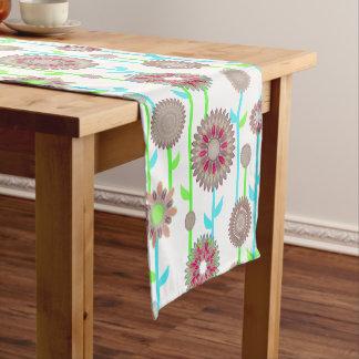 PH&D Flower Power Contemporary Table Runner Khaki