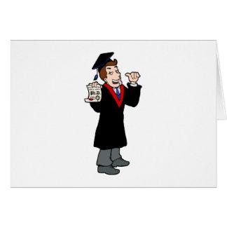 Ph D Graduate Greeting Card