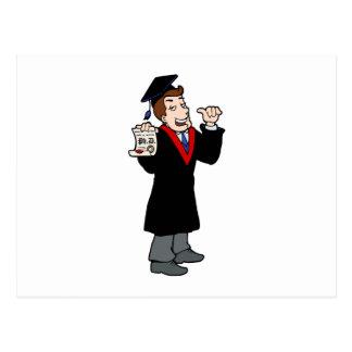 Ph D Graduate Post Card