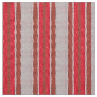 PH&D Inca Stripe Ethnic Fabric Red