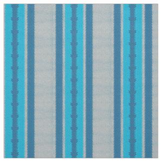 PH&D Inca Stripe Ethnic Fabric Turquoise