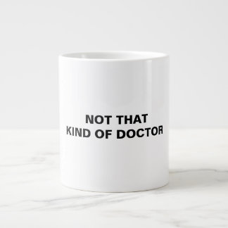 Ph.D. Large Coffee Mug