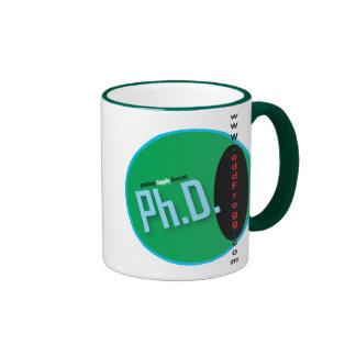 Ph.D. Positively Happily Divorced Mug
