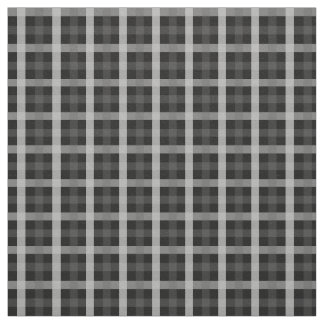 PH&D Small Check Fabric Black and White