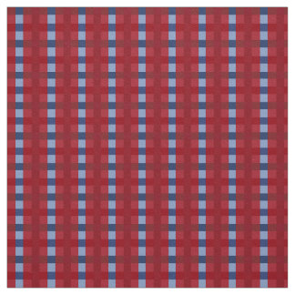 PH&D Small Check Fabric Red and Blue