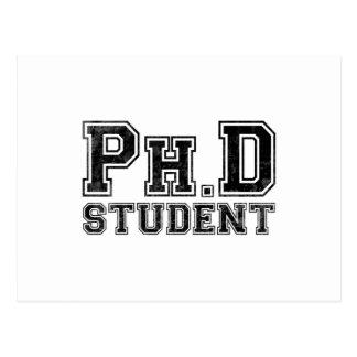 Ph D Student Postcards