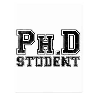 Ph D Student Post Card