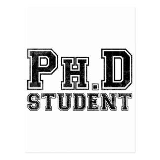 Ph D Student Post Card