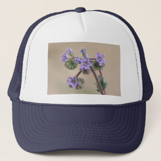 Phacelia Purple Wildflowers Trucker Hat