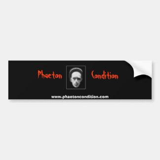 Phaeton Condition Bumber Sticker