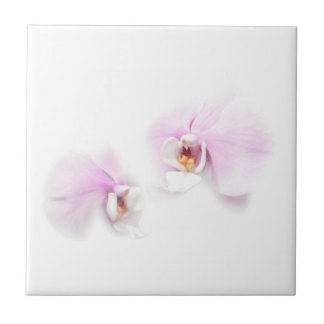 Phalaenopsis Hilo Lip Flower Duo Ceramic Tile