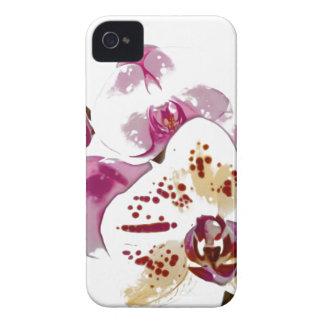 Phalaenopsis Orchid Flower Bouquet iPhone 4 Case-Mate Case