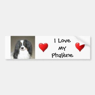 Phalene Love Bumper Sticker