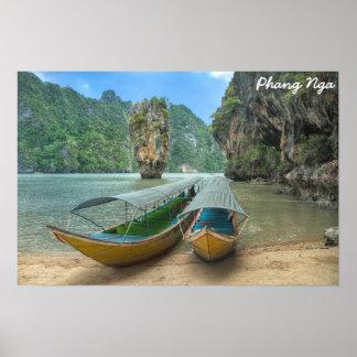 Phang Nga, Thailand Poster