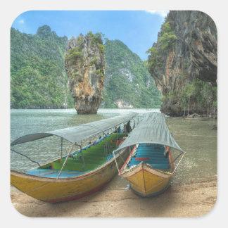 Phang Nga, Thailand Square Sticker