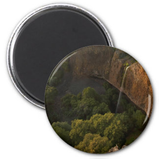Phantom Falls Disappearing Act, Chico CA 6 Cm Round Magnet