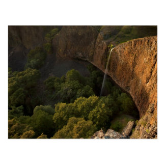 Phantom Falls Disappearing Act, Chico CA Postcard