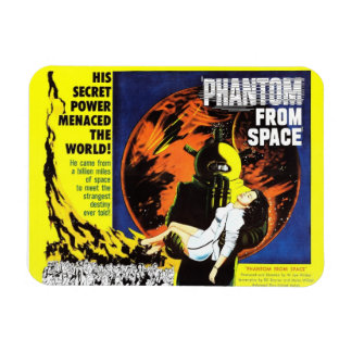 """Phantom From Space"" Magnet"