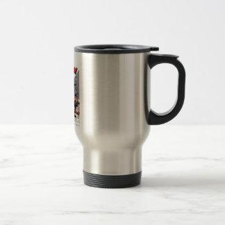 Phantom Lady and the Black Light Travel Mug