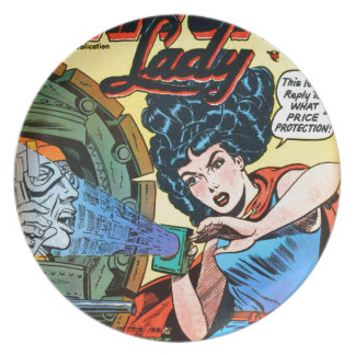 Phantom Lady -- Meanest Men in the World Plate