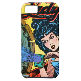 Phantom Lady -- Meanest Men in the World Tough iPhone 5 Case