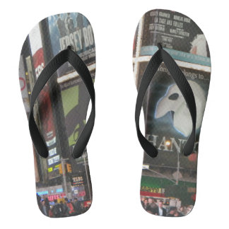 Phantom New York City Printed Sandals Thongs