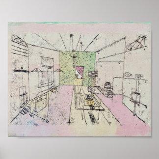 Phantom Perspective : Paul Klee 1920 Poster