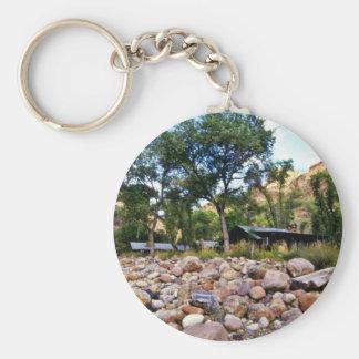 Phantom Ranch - Grand Canyon National Park Basic Round Button Key Ring