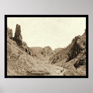 Phantom Ridge Black Hills SD 1890 Poster