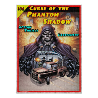 Phantom Shadow Post Poster
