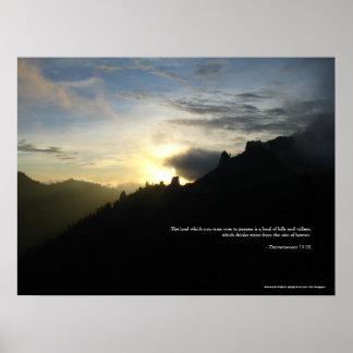 Phantom Spires Sunset Poster