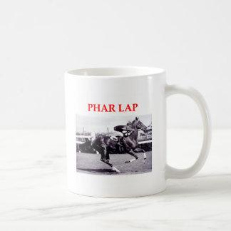 phar lap basic white mug