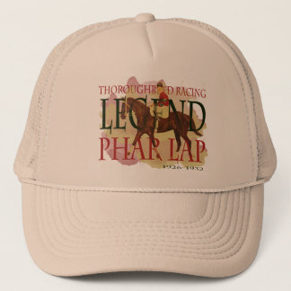 Phar Lap - Thoroughbred Horse Racing Legend Trucker Hat