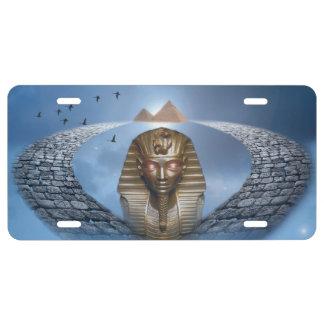 Pharaoh Fantasy License Plate
