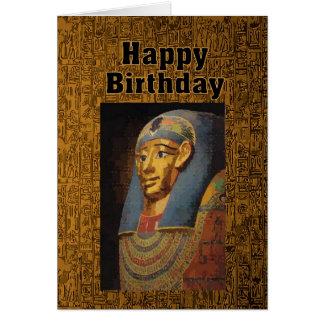 Pharaoh Happy Birthday Humor Card